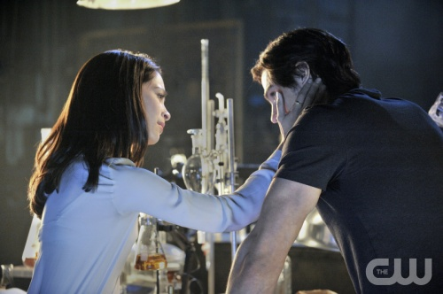 BEAUTY AND THE BEAST &quot;Pilot&quot; Pictured (L-R): Kristin Kreuk as Catherine and Jay Ryan as Vincent. Photo Credit: Ben Mark Holzberg/The CW. Image Number: BB100c_0162b.jpg. &copy; 2012 The CW Network, LLC. All rights reserved. 