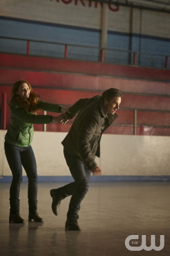 Beauty and the Beast -- &quot;On Thin Ice&quot; -- Pictured (L-R): Bridget Regan as Alex and Jay Ryan as Vincent -- Image Number: BB110a_0088r.jpg -- Photo: Sven Frenzel/The CW -- &copy; 2012 The CW Network. All Rights Reserved.