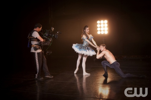 BREAKING POINTE  &quot;Pilot&quot;  Pictured (L-R): Allison DeBona and Ronnie Underwood.  Erik Ostling/The CW  &copy;2012 THE CW NETWORK, LLC.ALL RIGHTS RESERVED.