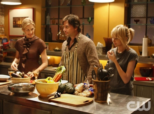 """The Magnificent Archibalds""  PICTURED: (l-r) Kelly Rutherford as Lily, Matthew Settle as Rufus, Taylor Momsen as Jenny  PHOTO CREDIT:  GIOVANNI RUFINO/THE CW  ©2008 THE CW NETWORK, ALL RIGHTS RESERVED"