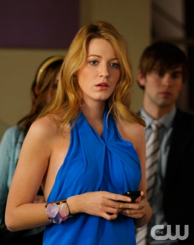 &quot;The Goodbye Gossip Girl&quot;  Pictured: Blake Lively as Serena  Photo Credit: Giovanni Rufino / The CW  &copy; 2009 The CW Network, LLC. All Rights Reserved.