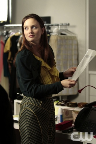 &quot;Panic Roommate&quot; Pictured  Leighton Meester as Blair Waldorf in  Gossip Girl on The CW. PHOTO CREDIT:  GIOVANNI RUFINO/ THE CW &copy;2011 The CW Network, LLC. All Rights Reserved