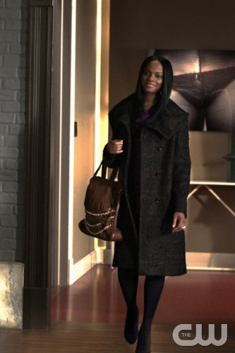 &quot;While You Weren't Sleeping&quot; -- Pictured Tika Sumpter as Raina Thorpe  in GOSSIP GIRL on THE CW. PHOTO CREDIT:Giovanni Rufino&copy;2010 The CW Network, LLC. All Rights Reserved