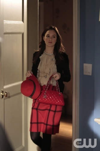 &quot;Empire Of The Son&quot;--  Pictured Leighton Meester as Blair Waldorf in GOSSIP GIRL  on THE CW.   PHOTO CREDIT: GIOVANNI RUFINO/ THE CW &copy;2011 The CW Network, LLC. All Rights Reserved