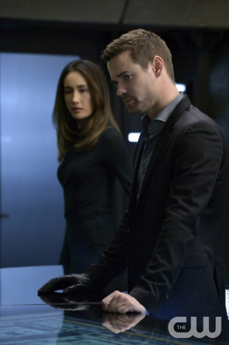 "Nikita -- ""Black Badge"" -- Image NK311a_0095 -- Pictured (L-R): Maggie Q as Nikita and Shane West as Michael -- Credit: Ben Mark Holzberg/The CW -- © 2013 The CW Network. All Rights Reserved"
