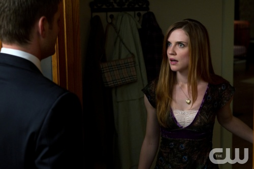 &quot;Slice Girls&quot; - (l-r): Jensen Ackles as Dean, Sara Canning as Lydia in SUPERNATURAL on The CW.  Photo: Jack Rowand/The CW&copy;2011 The CW Network, LLC. All Rights Reserved.