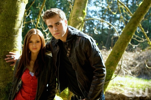 &quot;Pilot&quot;--Pictured  (L-R) Nina Dobrev as Elena and  Paul Wesley as Stefan in THE VAMPIRE DIARIES on The CW.  Photo: Alan Markfield /The CW &copy;2009 The CW Network, LLC. All Rights Reserved