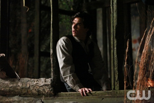 &quot;Blood Brothers&quot; - Ian Somerhalder as Damon in THE VAMPIRE DIARIES on The CW.  Photo: Quantrell Colbert/The CW  &copy;2010 The CW Network, LLC. All Rights Reserved.