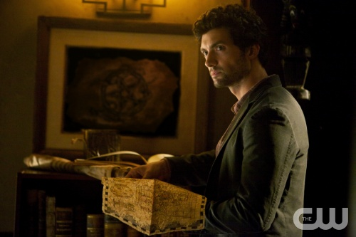 The Vampire Diaries -- &ldquo;The Five&rdquo; -- Pictured: David Alpay as Professor Shane -- Image Number: VD404a_0037.jpg -- Photo Credit: Annette Brown/The CW -- &copy; 2012 The CW Network, LLC. All rights reserved. Photo:  Annette Brown/ The Warner Bros &copy;2012 Warner Bros. Television All Rights Reserved