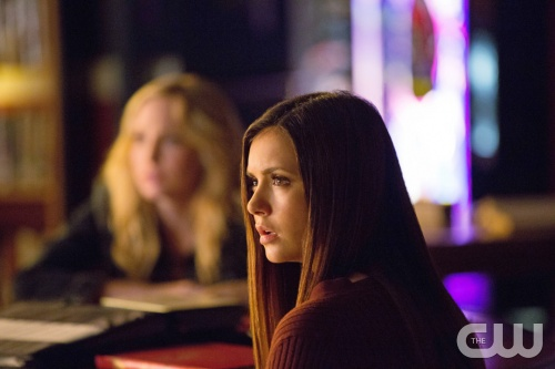 "The Vampire Diaries -- ""After School Special"" -- Pictured: Nina Dobrev as Elena -- Image Number: VD410c_0177.jpg -- Photo: Bob Mahoney/The CW -- ©2013 The CW Network, LLC. All rights reserved."